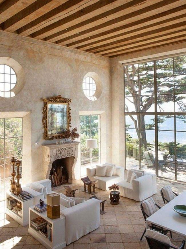 9 ý tưởng siêu tuyệt vời dành cho phòng khách cổ điển khiến bạn muốn lịm tim - Ảnh 3.