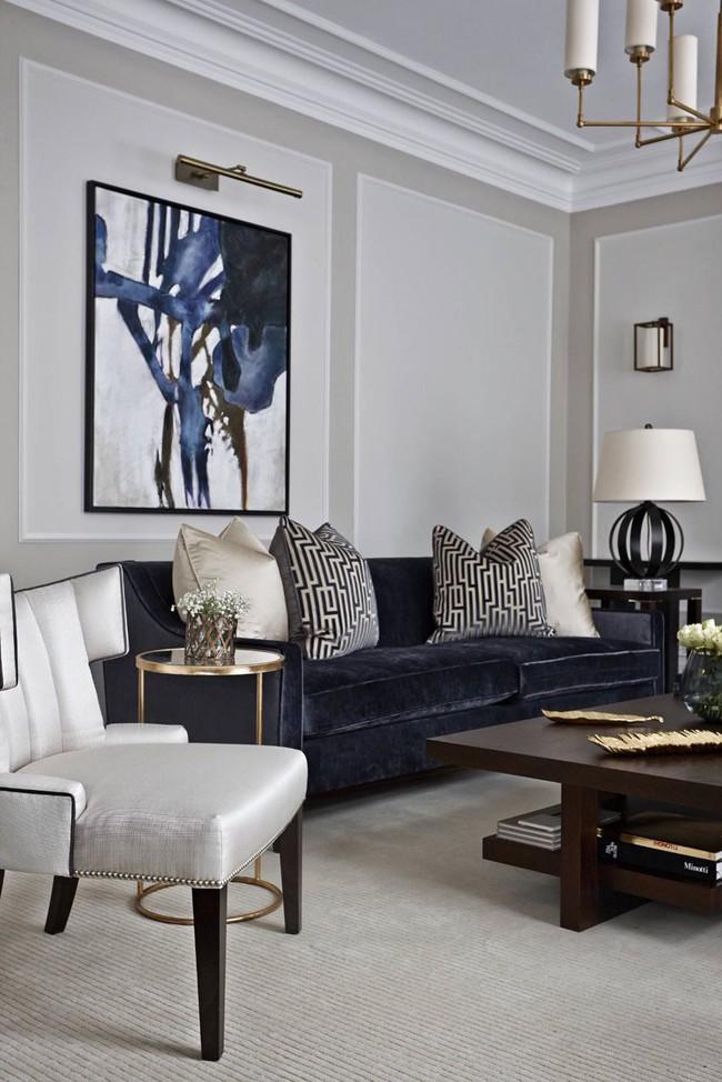 9 ý tưởng siêu tuyệt vời dành cho phòng khách cổ điển khiến bạn muốn lịm tim - Ảnh 5.