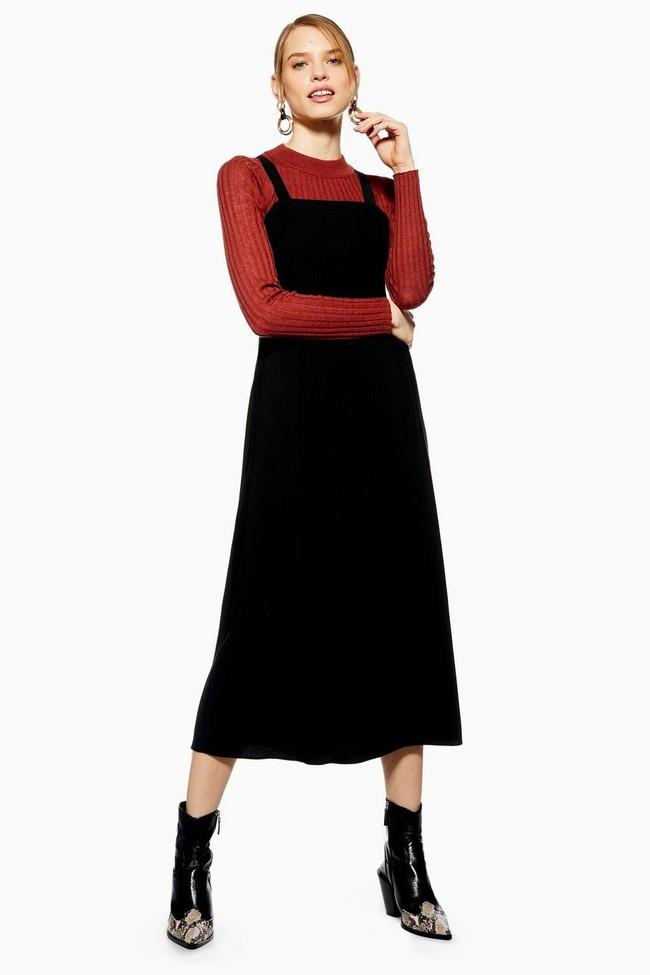 Nghía qua 15 mẫu váy từ Zara, Mango, Topshop, các nàng thế nào cũng chọn được chân ái để tha hồ bung lụa đón Tết - Ảnh 8.