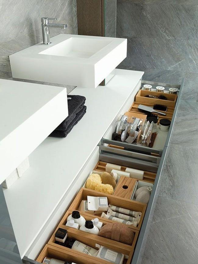 7 ý tưởng lưu trữ ẩn trong phòng tắm bạn không thể không biết để sở hữu phòng tắm rộng hơn diện tích thật - Ảnh 6.