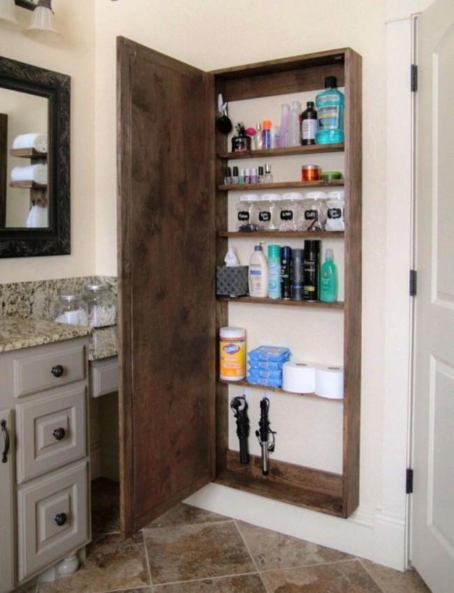 7 ý tưởng lưu trữ ẩn trong phòng tắm bạn không thể không biết để sở hữu phòng tắm rộng hơn diện tích thật - Ảnh 7.