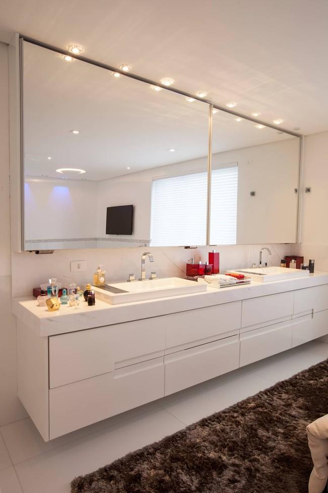 7 ý tưởng lưu trữ ẩn trong phòng tắm bạn không thể không biết để sở hữu phòng tắm rộng hơn diện tích thật - Ảnh 8.
