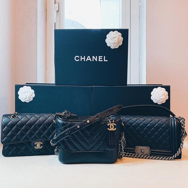 Tết chưa đến, Quỳnh Anh đã được bạn trai quốc dân Duy Mạnh tặng túi Chanel Boy trăm triệu, khiến hội chị em ghen tị hết sức - Ảnh 4.
