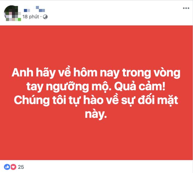Thua Nhật Bản nhưng người hâm mộ vẫn động viên tuyển Việt Nam: Về ăn Tết thôi, các em vất vả quá rồi! - Ảnh 7.