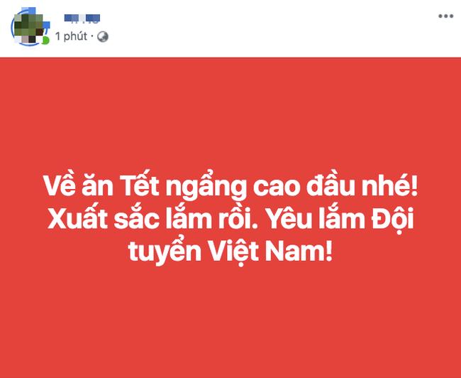 Thua Nhật Bản nhưng người hâm mộ vẫn động viên tuyển Việt Nam: Về ăn Tết thôi, các em vất vả quá rồi! - Ảnh 6.