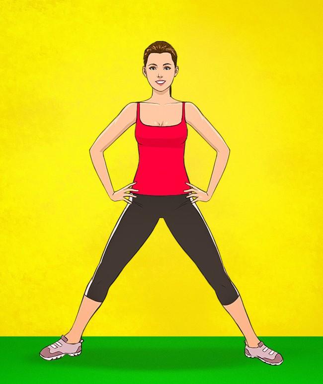 HLV Nhật Bản hướng dẫn bài tập đơn giản có thể giúp giảm bớt bụng xệ chỉ trong 3 tuần - Ảnh 3.