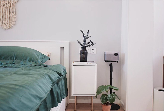 Căn hộ 70m² trên tầng 33 đẹp hút hồn với thiết kế gạch sàn bếp hình lục giác độc đáo - Ảnh 10.