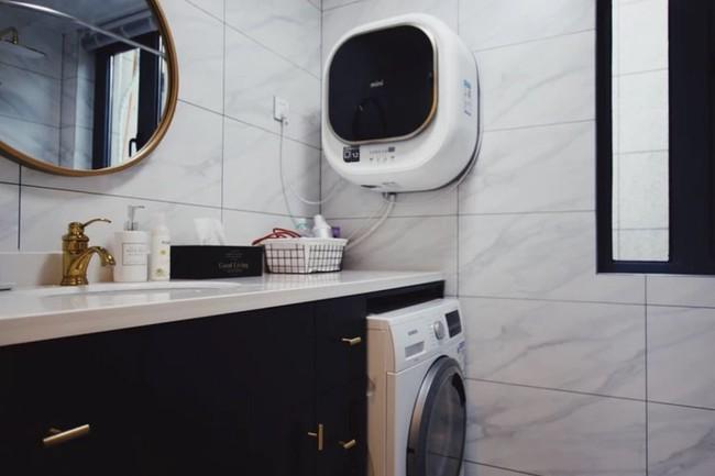 Căn hộ 70m² trên tầng 33 đẹp hút hồn với thiết kế gạch sàn bếp hình lục giác độc đáo - Ảnh 16.
