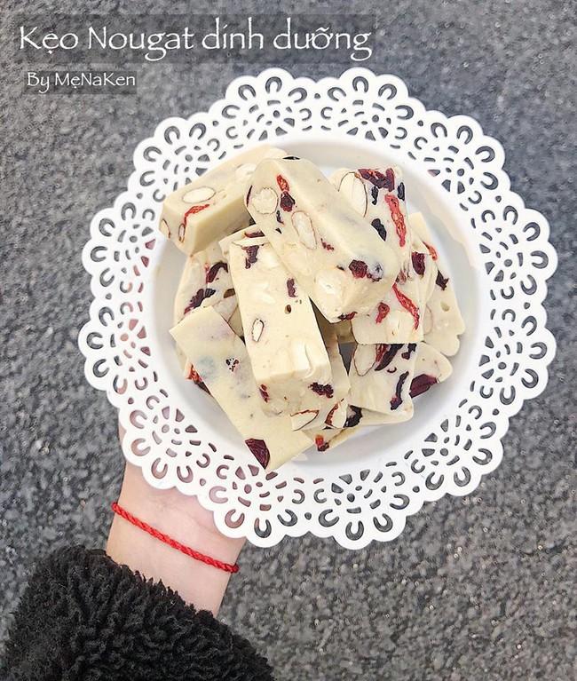 Món kẹo Nougat đang làm mưa làm gió Tết năm nay - học ngay cách làm ngàn like của mẹ Na Ken - Ảnh 5.