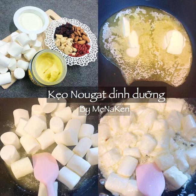 Món kẹo Nougat đang làm mưa làm gió Tết năm nay - học ngay cách làm ngàn like của mẹ Na Ken - Ảnh 2.