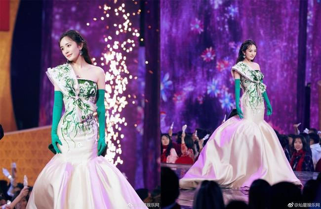 Giữa lùm xùm tranh giành quyền nuôi con, Dương Mịch vẫn đẹp động lòng người khi diện váy dạ hội tham dự sự kiện - Ảnh 3.