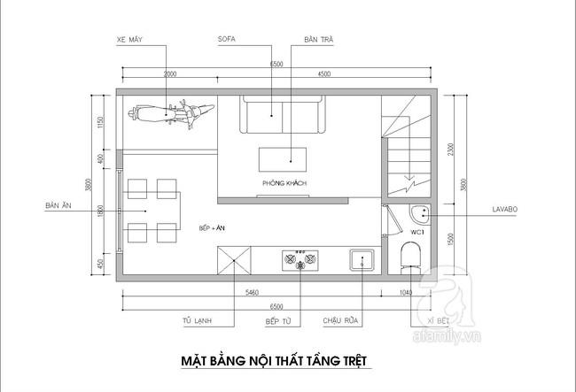 Thiết kế nhà ống: Tư vấn thiết kế nhà ống có 3 phòng ngủ thoáng mát- Ảnh 1.