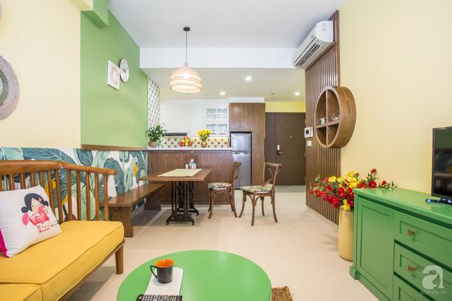 Căn hộ 70m² đặc biệt gây ấn tượng khi được thiết kế đậm chất đồng quê Việt ở quận 4, TP. HCM - Ảnh 3.
