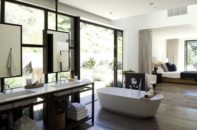 Bất kể diện tích lớn nhỏ, chỉ nhờ mẹo thiết kế này mà căn phòng tắm luôn khiến người dùng thoải mái - Ảnh 3.