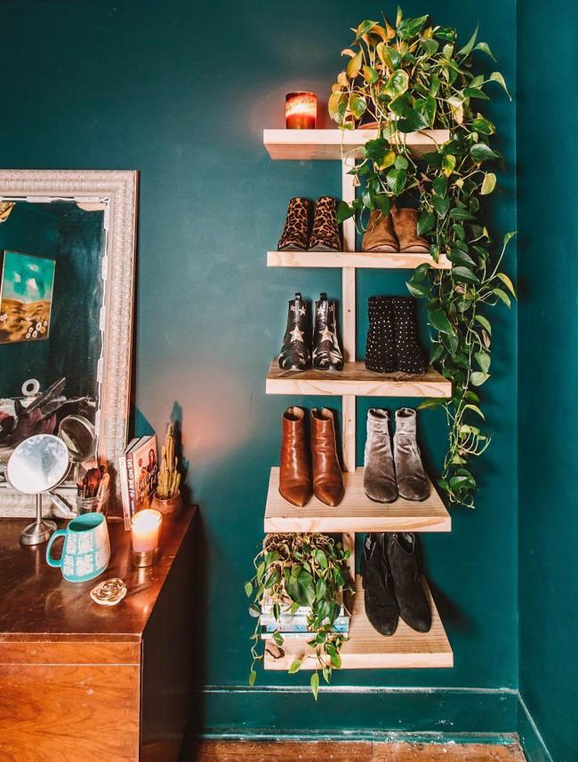 8 thiết kế kệ giày dép thời trang, thanh lịch nhưng đơn giản có thể tự làm tại nhà mà không tốn nhiều sức - Ảnh 4.