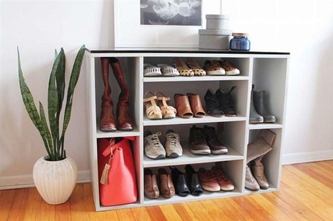 8 thiết kế kệ giày dép thời trang, thanh lịch nhưng đơn giản có thể tự làm tại nhà mà không tốn nhiều sức - Ảnh 7.