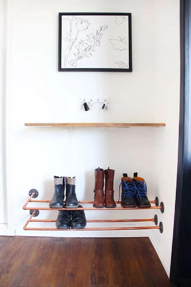 8 thiết kế kệ giày dép thời trang, thanh lịch nhưng đơn giản có thể tự làm tại nhà mà không tốn nhiều sức - Ảnh 8.