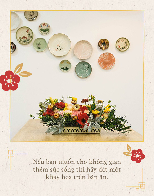 Mẹ 8x Hà Nội hướng dẫn 3 cách dùng hoa truyền thống, giá dưới 500 ngàn để trang trí nhà đón Tết - Ảnh 17.