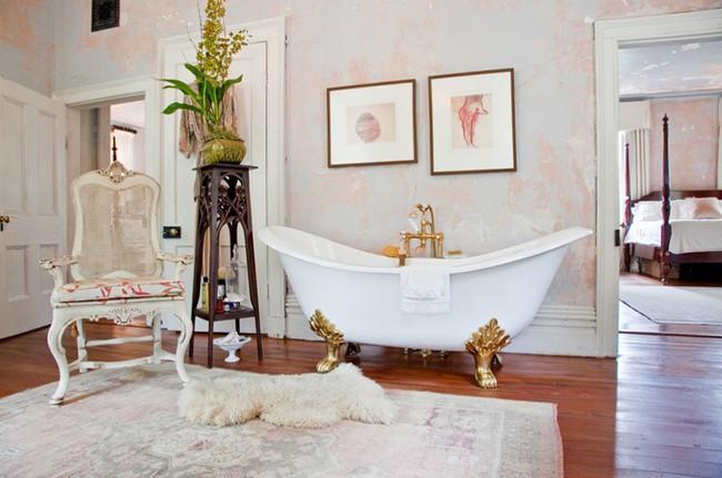 20 ý tưởng cần học ngay để có một phòng tắm đẹp sang trọng và lãng mạn trong dịp năm mới - Ảnh 1.