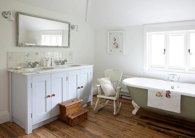 20 ý tưởng cần học ngay để có một phòng tắm đẹp sang trọng và lãng mạn trong dịp năm mới - Ảnh 5.