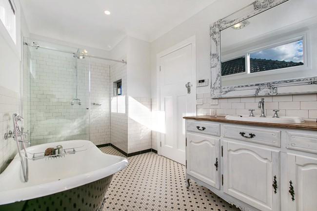 20 ý tưởng cần học ngay để có một phòng tắm đẹp sang trọng và lãng mạn trong dịp năm mới - Ảnh 8.