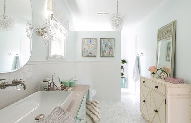 20 ý tưởng cần học ngay để có một phòng tắm đẹp sang trọng và lãng mạn trong dịp năm mới - Ảnh 10.