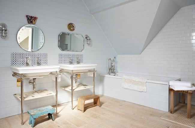 20 ý tưởng cần học ngay để có một phòng tắm đẹp sang trọng và lãng mạn trong dịp năm mới - Ảnh 11.