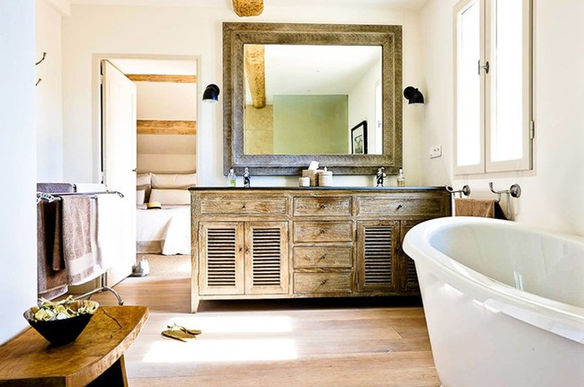 20 ý tưởng cần học ngay để có một phòng tắm đẹp sang trọng và lãng mạn trong dịp năm mới - Ảnh 13.