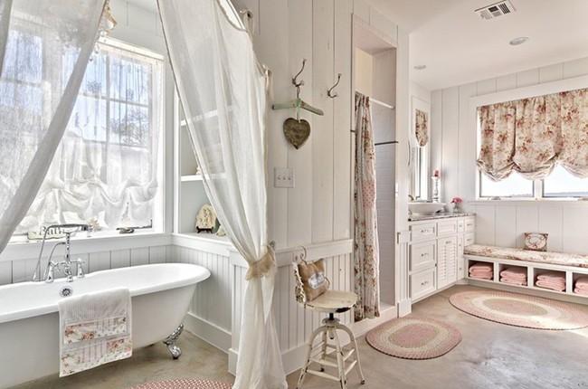 20 ý tưởng cần học ngay để có một phòng tắm đẹp sang trọng và lãng mạn trong dịp năm mới - Ảnh 15.