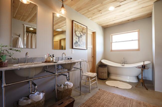 20 ý tưởng cần học ngay để có một phòng tắm đẹp sang trọng và lãng mạn trong dịp năm mới - Ảnh 19.