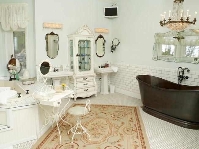 20 ý tưởng cần học ngay để có một phòng tắm đẹp sang trọng và lãng mạn trong dịp năm mới - Ảnh 20.