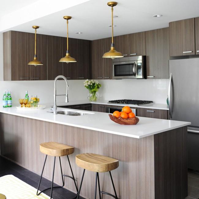 10 góc bếp nhỏ xinh được decor sáng tạo dành cho những căn hộ có diện tích khiêm tốn - Ảnh 1.