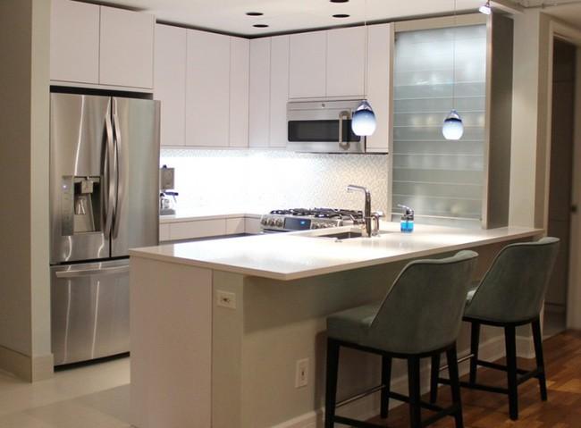 10 góc bếp nhỏ xinh được decor sáng tạo dành cho những căn hộ có diện tích khiêm tốn - Ảnh 5.