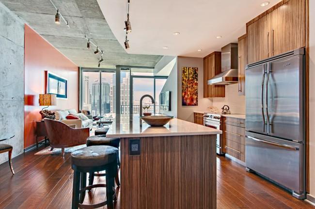 10 góc bếp nhỏ xinh được decor sáng tạo dành cho những căn hộ có diện tích khiêm tốn - Ảnh 6.