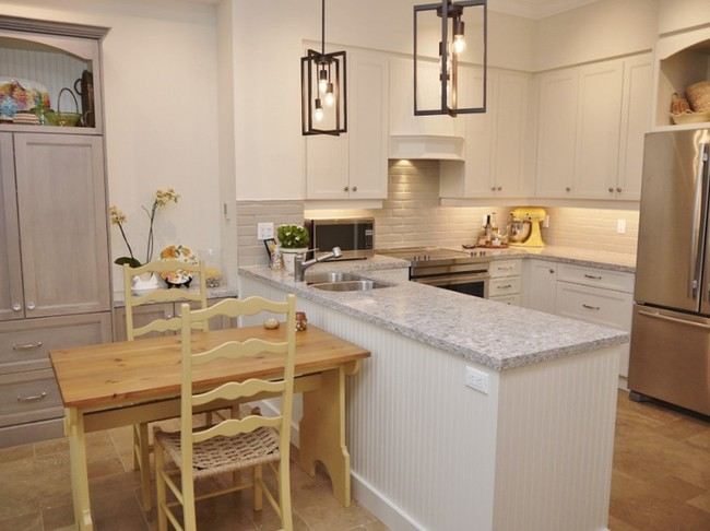 10 góc bếp nhỏ xinh được decor sáng tạo dành cho những căn hộ có diện tích khiêm tốn - Ảnh 8.