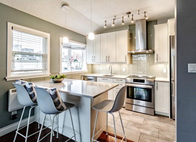 10 góc bếp nhỏ xinh được decor sáng tạo dành cho những căn hộ có diện tích khiêm tốn - Ảnh 9.