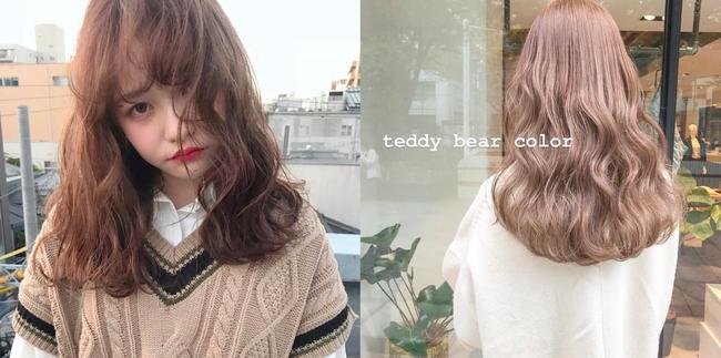 Tóc nhuộm Teddy bear: Tông màu mới mở màn năm 2019, hack tuổi cực siêu và nàng công sở không thử qua thì quá phí - Ảnh 6.