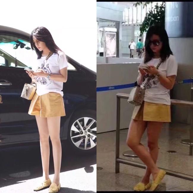 Triệu Vy, Dương Mịch, Angela Baby bị óc mẽ đôi chân thiếu nuột nà… trong loạt ảnh trước – sau photoshop - Ảnh 3.