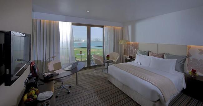 Cận cảnh khách sạn có cả bãi biển và sân golf đội tuyển Việt Nam đang lưu trú khi thi đấu Asian Cup 2019  - Ảnh 4.