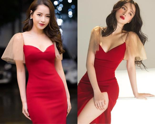 """Chi Pu xinh xắn như tiểu thư còn Angela Phương Trinh lại sexy tột cùng nhờ body """"vòng nào ra vòng nấy"""" khi đụng váy - Ảnh 5."""