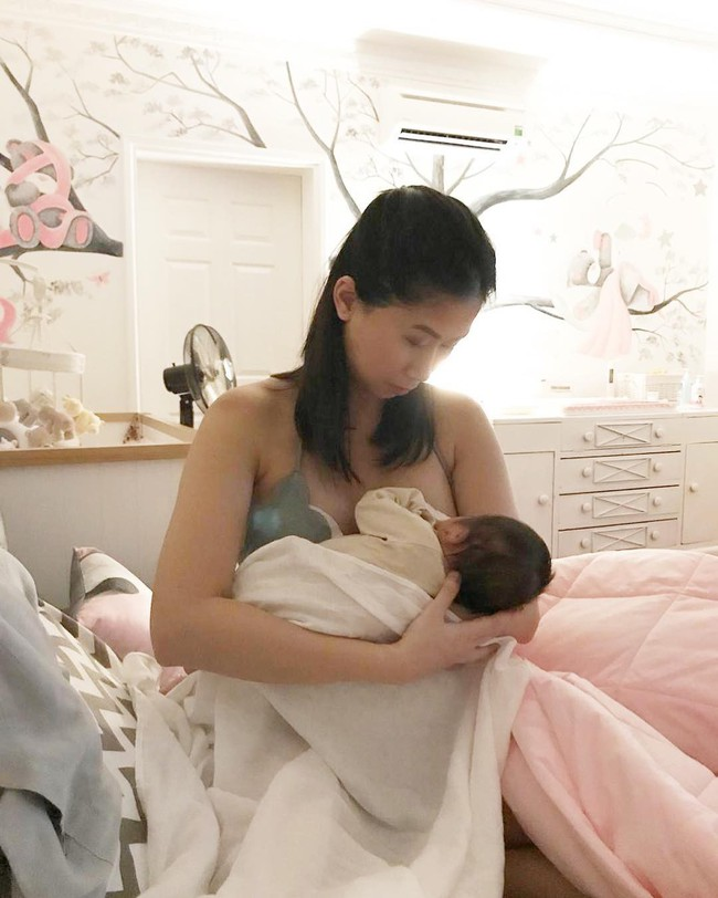 Stephanie Nguyễn - chị chồng kín tiếng của Hà Tăng: Vừa sinh con đầu lòng, nuôi con hoàn toàn bằng sữa mẹ - Ảnh 7.