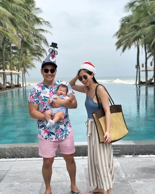 Stephanie Nguyễn - chị chồng kín tiếng của Hà Tăng: Vừa sinh con đầu lòng, nuôi con hoàn toàn bằng sữa mẹ - Ảnh 9.