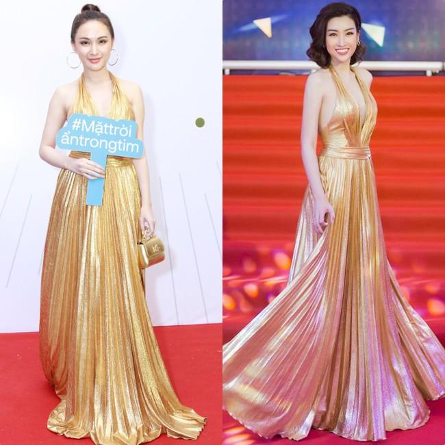 Đụng hàng hẳn với Đỗ Mỹ Linh nhưng hotgirl thẩm mỹ Kelly Nguyễn vẫn tỏa sáng theo cách của riêng mình - Ảnh 5.