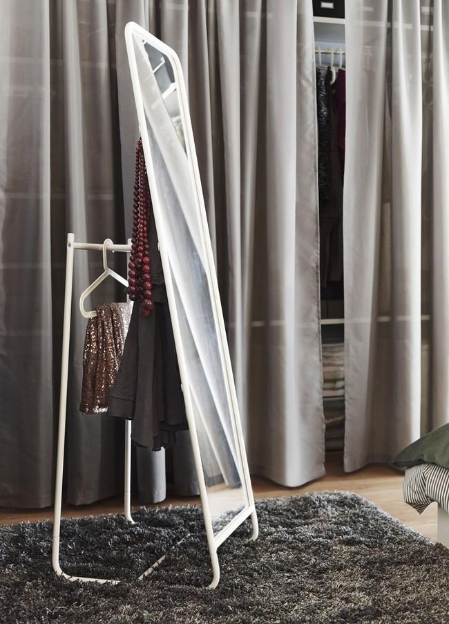 8 món nội thất có giá rẻ bất ngờ bạn có thể mua để lưu trữ tối đa cho phòng ngủ có diện tích nhỏ - Ảnh 4.