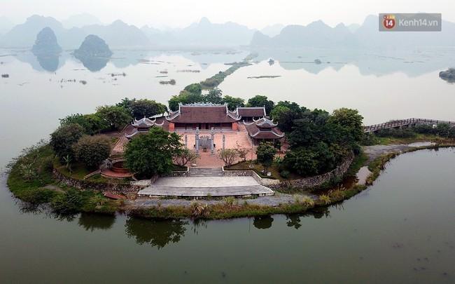 Cận cảnh ngôi chùa lớn nhất Việt Nam - Nơi sẽ đặt báu vật thiên thạch mặt trăng 600.000 USD được đấu giá từ Mỹ - Ảnh 7.