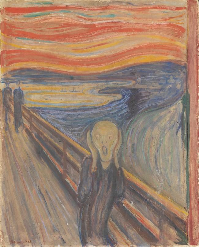 Câu chuyện đau buồn ít biết đằng sau bức tranh gây hoảng sợ nhất mọi thời đại Tiếng thét - Ảnh 1.
