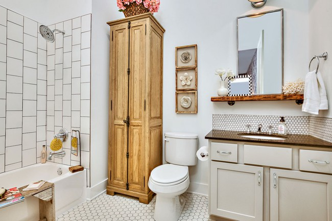 5 ý tưởng xây dựng phòng tắm trong căn hộ nhỏ giúp tối đa hóa không gian - Ảnh 1.
