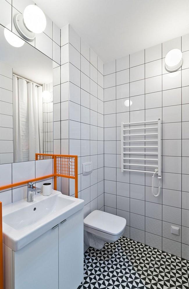 5 ý tưởng xây dựng phòng tắm trong căn hộ nhỏ giúp tối đa hóa không gian - Ảnh 14.