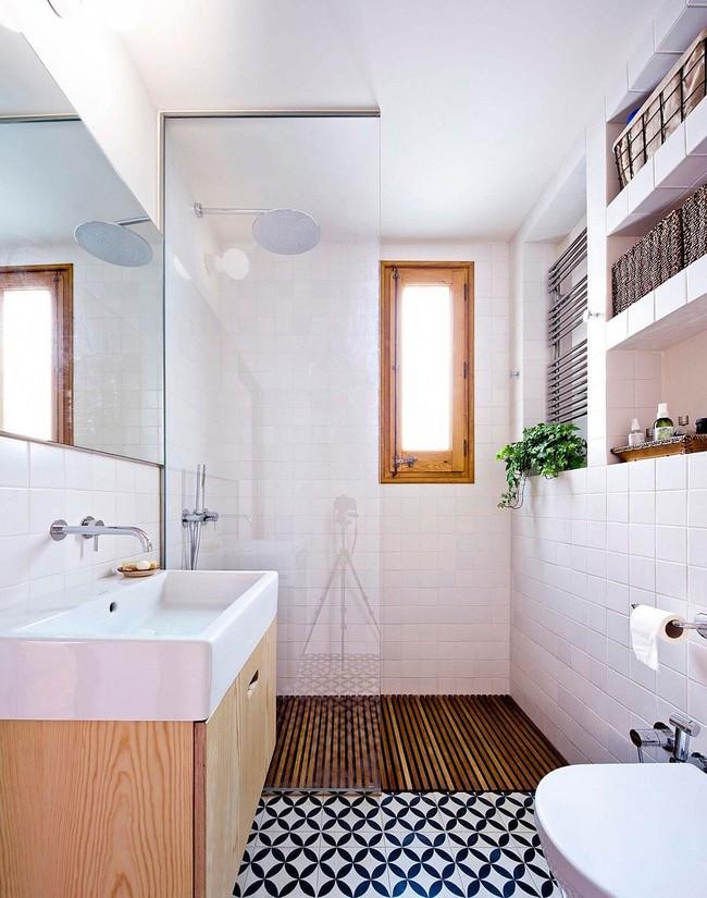 5 ý tưởng xây dựng phòng tắm trong căn hộ nhỏ giúp tối đa hóa không gian - Ảnh 15.