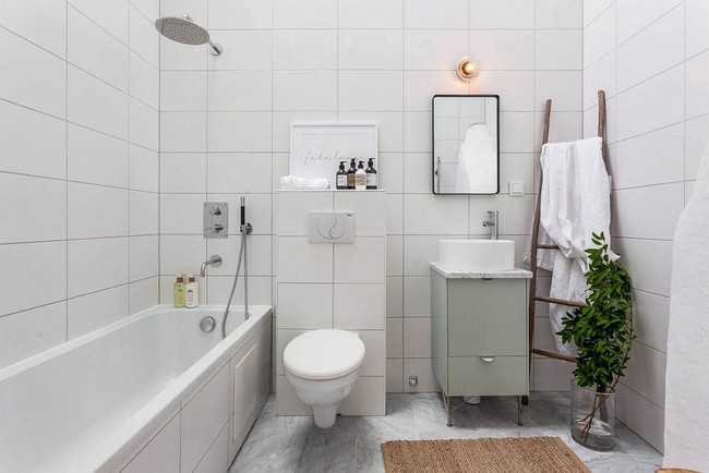 5 ý tưởng xây dựng phòng tắm trong căn hộ nhỏ giúp tối đa hóa không gian - Ảnh 19.
